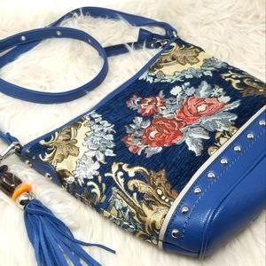 SHARIF 1827 TAPESTRY BAG WITH BEAUTIFUL TASSEL